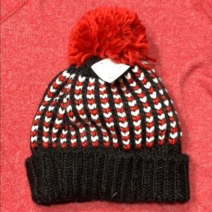 NWT fleeced lines hat